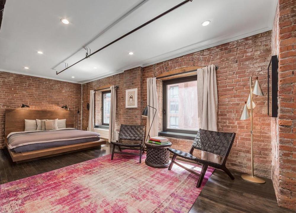 Style industriel dans loft de luxe à Manhattan, New York