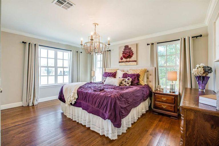 Chambre de prestige dans une propriété au Texas