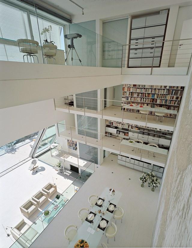 Maison d'architecte à étages