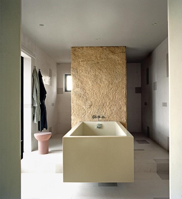 Décoration design dans une maison de luxe à Ibiza