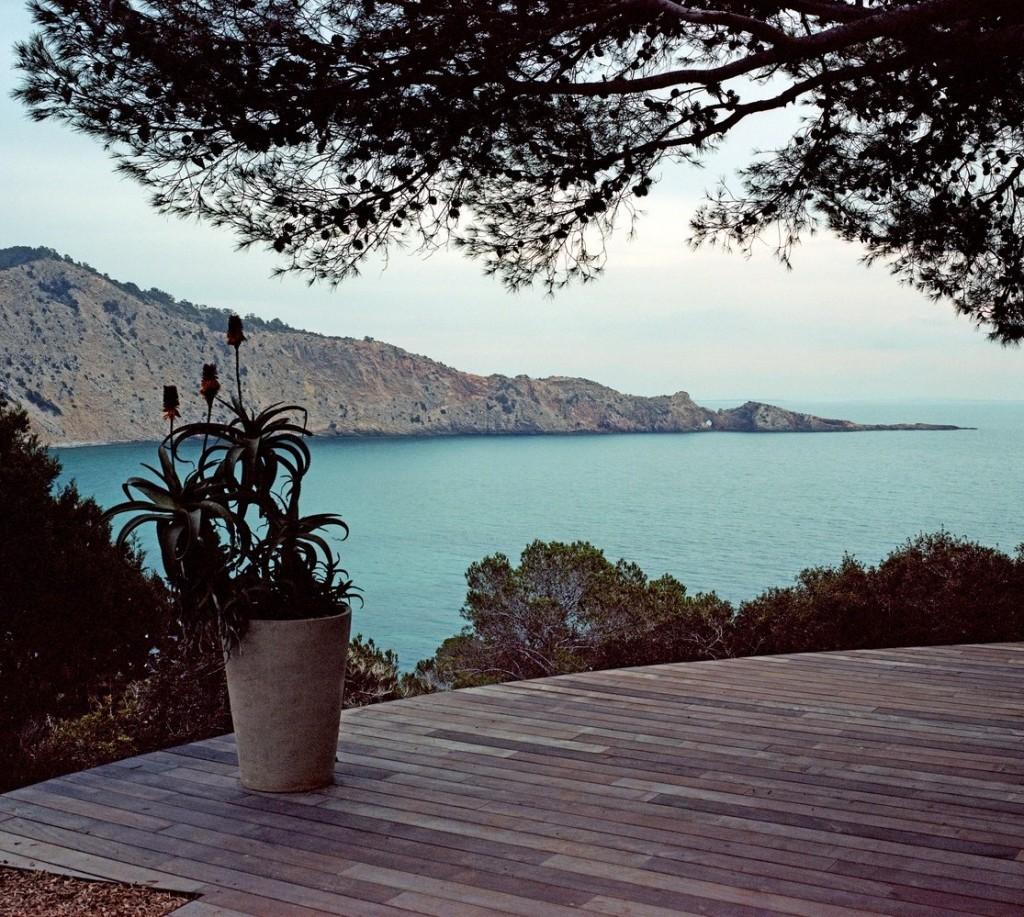 Villa de luxe avec vue sur la mer d'Ibiza